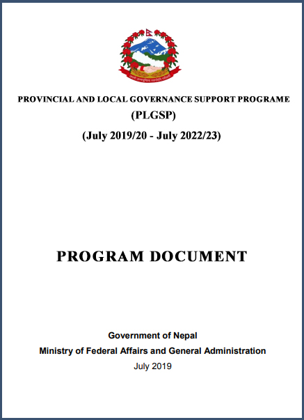 PLGSP Program Document