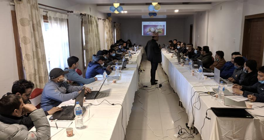 Photos of Lumbini Province organized a consultative workshop for IT Officers working in LGs