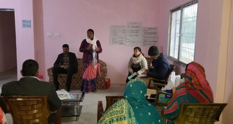 Photos of PCGG Province-2 Organized Training on GESI mainstreaming
