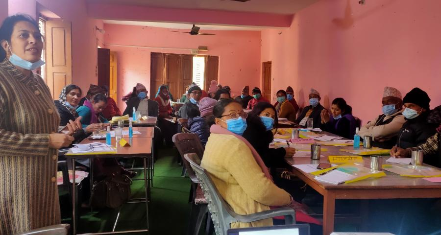 Photos of event PCGG Sudurpaschim organized capacity building training on GESI and COVID to representatives from 10 LGs of Achham