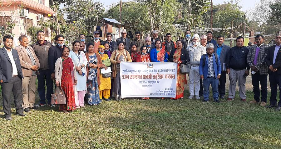 Photos for Orientation on Revenue Management conducted in Dhangadhi, Sudurpaschim province for members of Revenue Improvement Advisory Committee