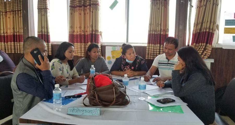 Photos of two days ToT on GESI Mainstreaming has been conducted by PCGG province-1