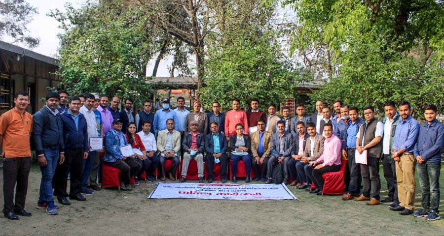 Photos of Public Procurement Training to the Government Personnel of Provincial Ministries of Lumbini Province